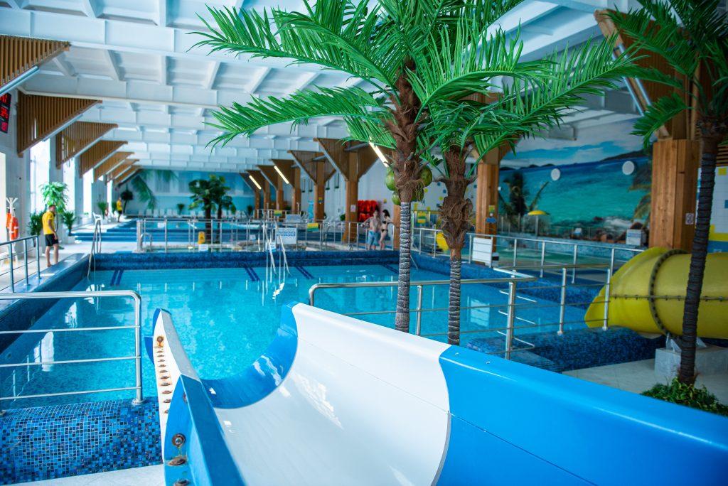 На базе санатория возобновляет свою работу  Spa комплекс «Озеро Spа» и  Водно-Развлекательный комплекс «Фламинго»